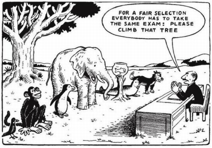 for-a-fair-selection-everybody-has-to-take-the-same-exam-please-climb-that-tree